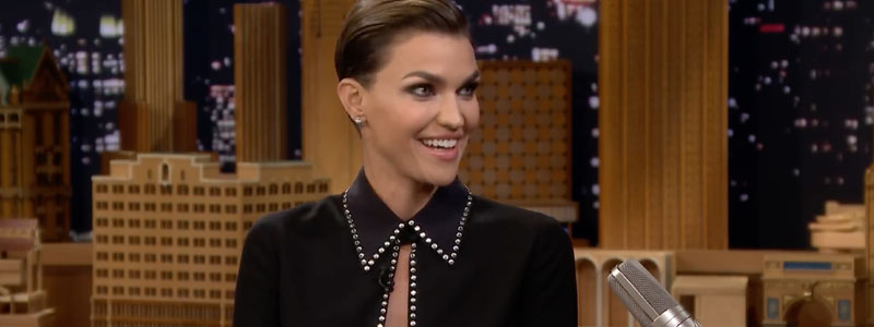 Ruby Rose on The Tonight Show